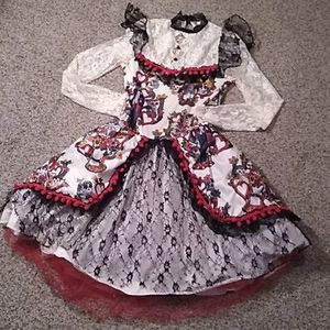 Spirit Halloween Dia de los Muertos lace dress